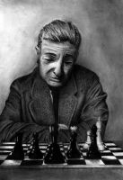 The Chess Player by MkingART