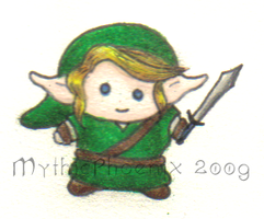 Super Chibi Link by MythicPhoenix