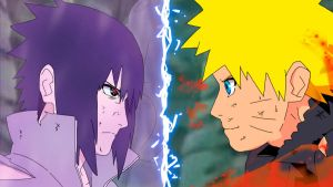 Naruto vs. Sasuke - An epic battle is coming by montonico