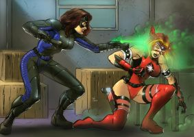 Spectre Knocks Out Crimson by Taclobanon