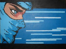Ryu's Premonition by Squarepainter