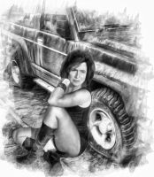 Jeep Girl by DaveJones-Photograpy