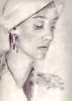 Figure Portrait - Towel Girl by mhofever
