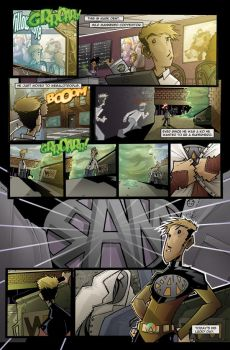 Hero at Large:2 page four by JeremyTreece