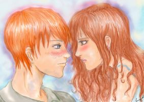 Ron and Hermoine Love by dontcallmenymphadora