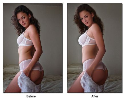 Photo retouch test without tutorials by Charlotte06au