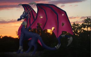 Cynder-Stand ontop of the roof by Cynder250