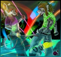 Rave : Sid and Ashurah: by kovat