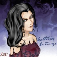 bellatrix lestrange by ururululurur