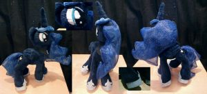 Princess Luna Plushie 2.0 [SOLD] by Uminohoshi
