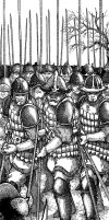 Pikemen by pictishscout