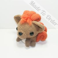 Vulpix by Heartstringcrochet