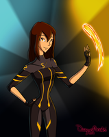 Gift: Sol for SolKorra by DragonAnalei
