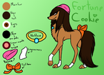 Fortune Cookie Ref by mashaheart
