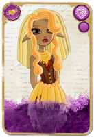 Commish: Chloe Stiltskin Rebel Card by SnowFright