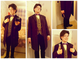 Eleventh Doctor Cosplay Update by Luxris