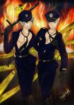 Police Germancest - Let it burn!!! by patty110692