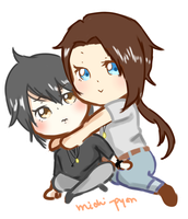 {Commission} .:Masami-shina:. Chibis by pyonworks