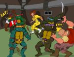 TMNT: April's Sewer Rescue by oldmanwinters