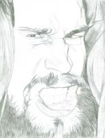 Chris Hero by X2j2012