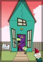 Zim's House by lims
