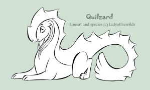 Quilzard - Free line base by ladyofthewilds