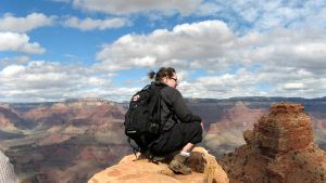 A Canadian at the Grand Canyon by sicmentale