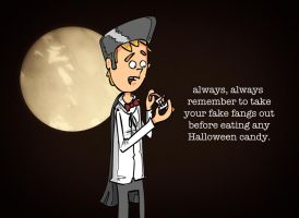 Halloween rule number one by narcolepsyinc