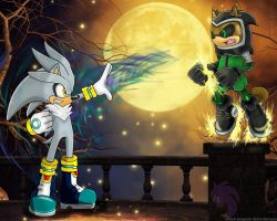 :Commission: Silver VS Gareth by Official-Stargazer
