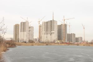 High-Rise Construction 14 by ManicHysteriaStock