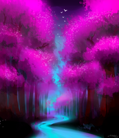Enchanted Forest by pikaira