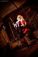 Batman - Harley Quinn by Mari-Evans