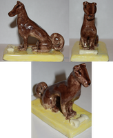 Dog Sculpture by TwitchyTail