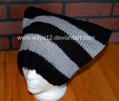 Striped Grey and Black by Wilya12