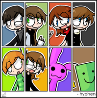 Hyphen Character Chart by kurisquare