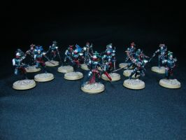 Dark Eldar - Wyches by Quiet-Lamp