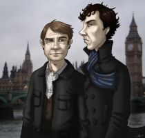 Sherlock by CerberusLives