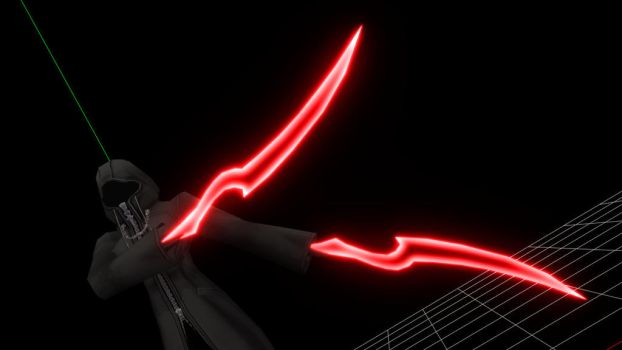 [MMD Prev] Xemnas's Ethereal Blades - Aggression by makaihana975