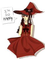 red! wadanohara by Fruit-Crayons