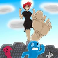 Annie Puts Her Best Foot Forward by GnarledContradiction