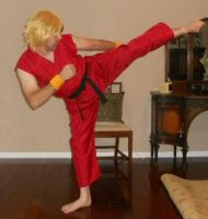 Classic Ken Masters Cosplay by IronCobraAM