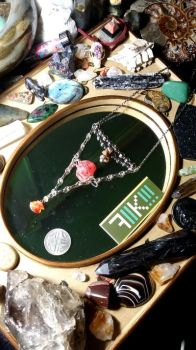 'Bermuda Triangle' Necklace by K4TG4R