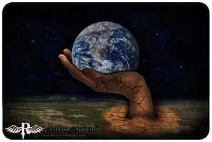 The world in my hand by NiveumDiabolus