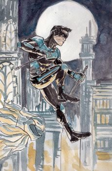 Nightwing by BluBoiArt