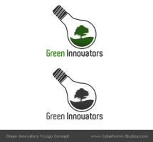 Logo - 'Green Innovators' by CybertronicStudios