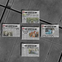 Newspaper Collection Part 1 by KoDraCan