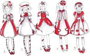 GuroLoli outfits for your OCs -CLOSED- by bejja