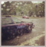 Bus View - Atlanta Police by wiebkefesch