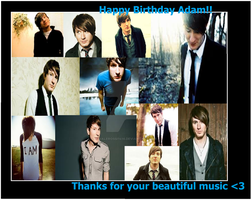 Collage ADAM .:Birthday Gift:. by ValeRossi1416