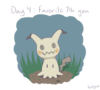 Pokemon drawing challenge Day 4 by Izelyca